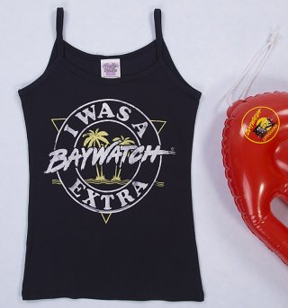 Women's I Was A Baywatch Extra Strappy Vest