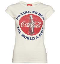 Women's I'd Like To Buy The World A Coke T-Shirt