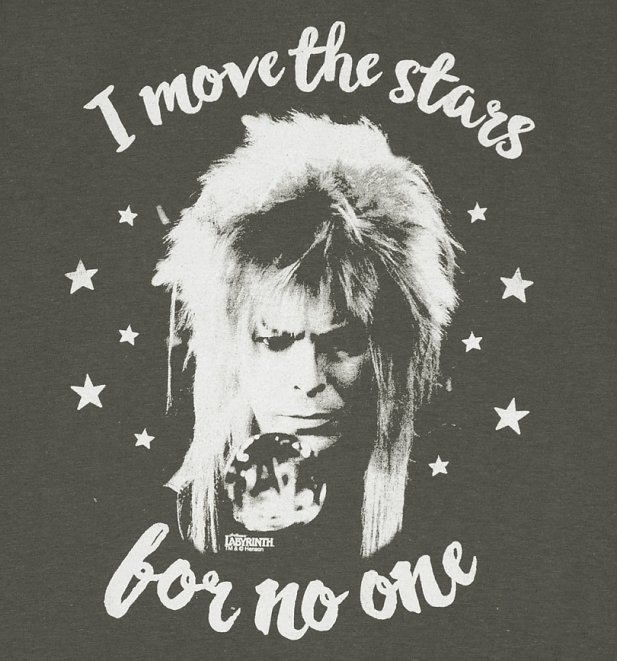 Women's Jareth I Move The Stars For No One T-Shirt