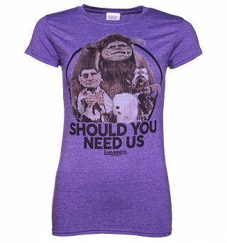 Women's Labyrinth Should You Need Us T-Shirt
