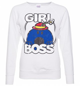 Women's Little Miss Bossy Girl Boss Sweater
