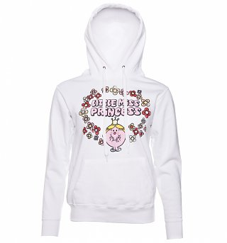 Women's Little Miss Princess Floral Hoodie