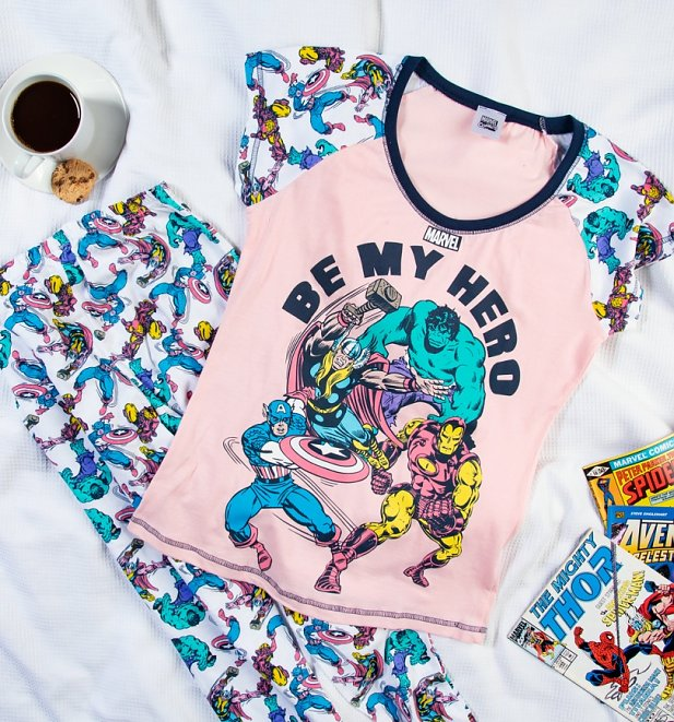 Marvel Be My Hero Pyjama Set