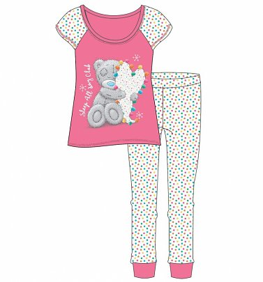 Women's Me To You Tatty Teddy Sleep All Day Club Pyjamas