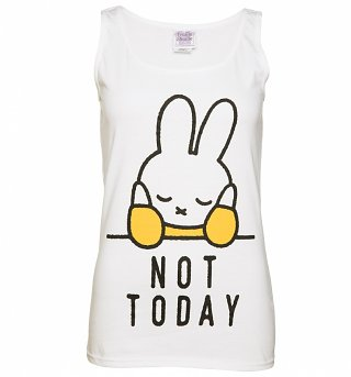 Women's Miffy Not Today Slogan Vest