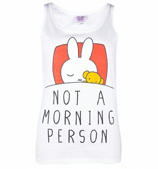 Women's Miffy Not a Morning Person Vest