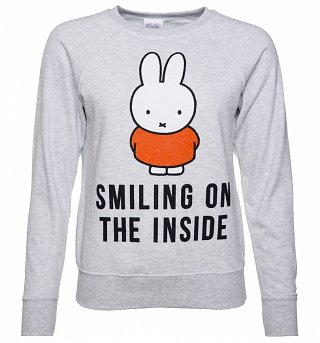 Women's Miffy Smiling On The Inside Sweater