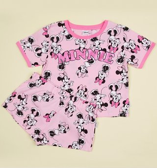 Women's Minnie Mouse Shortie Pyjama Set