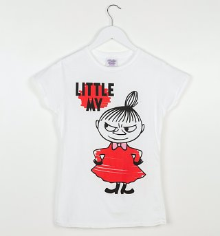 Women's Moomins Little My White T-Shirt