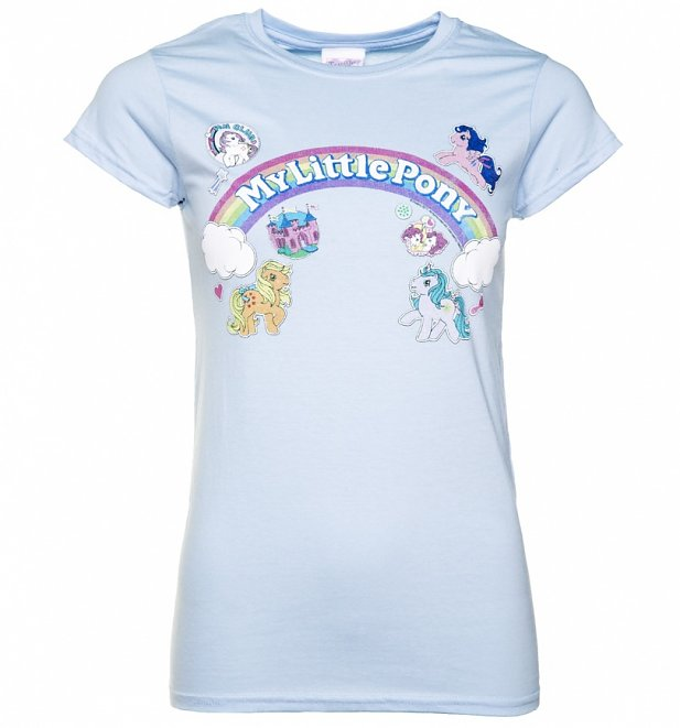 Women's My Little Pony Logo with Badges T-Shirt