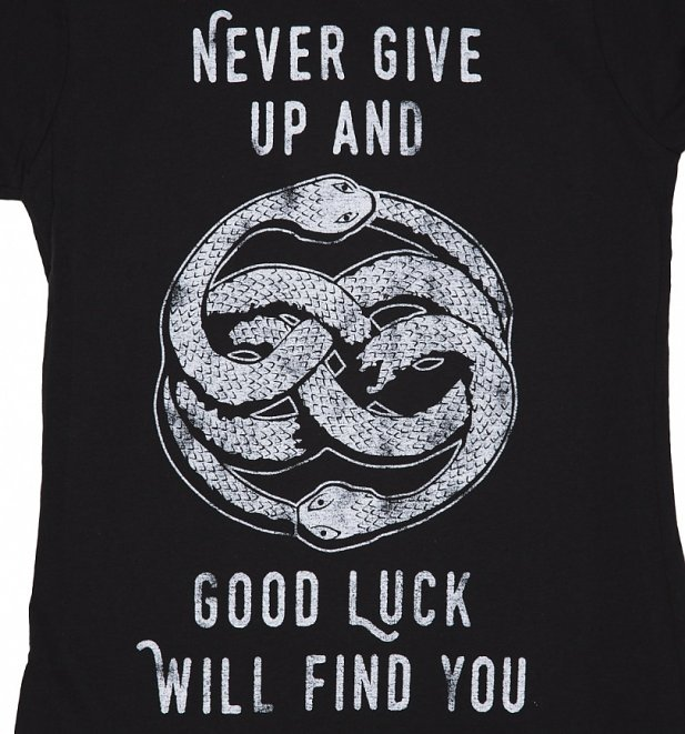 Women's Never Give Up NeverEnding Story Inspired T-Shirt