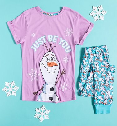 Women's Olaf Just Be You Disney Pyjamas