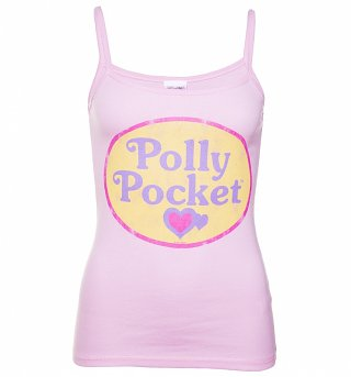 Women's Polly Pocket Logo Strappy Vest