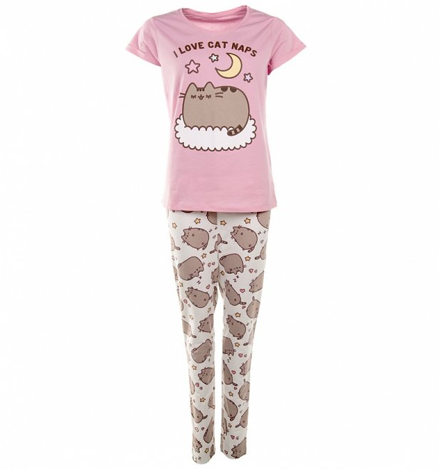 Women's Pusheen I Love Cat Naps Pyjamas