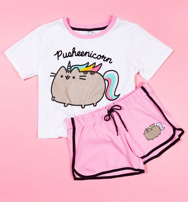 Women's Pusheenicorn Shortie Pyjama Set
