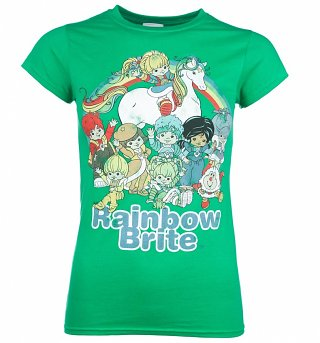 Women's Rainbow Brite And The Colour Kids Green T-Shirt