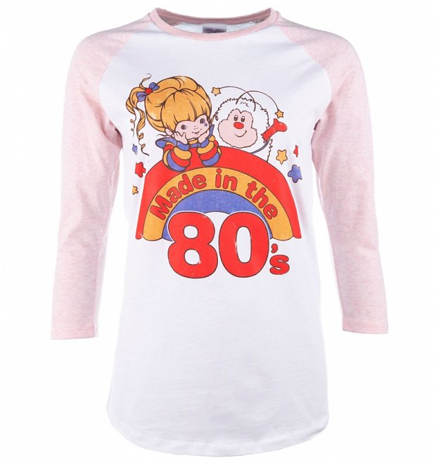 Women's Rainbow Brite Made in the 80's Baseball T-Shirt