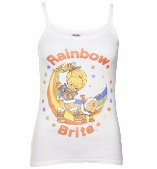 Women's Rainbow Brite and Twink Strappy Vest