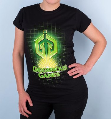 Women's Ready Player One Gregarious Games Logo T-Shirt