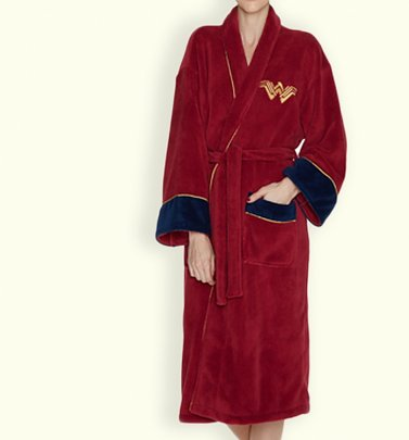 Women's Red Wonder Woman DC Comics Batman V Superman Dressing Gown