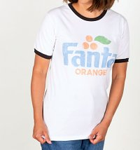 Women's Retro Fanta Ringer T-Shirt