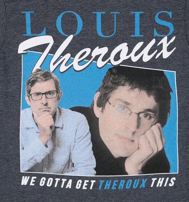 Women's Retro Louis Theroux Dark Heather T-Shirt