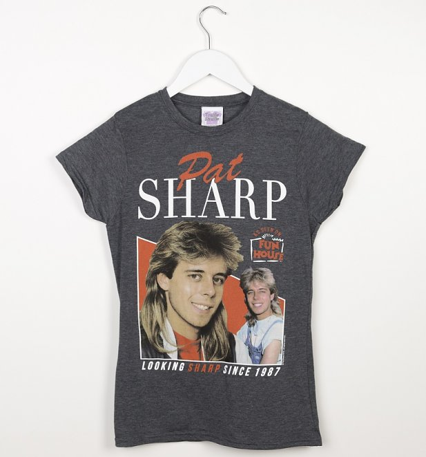 Women's Retro Pat Sharp Dark Heather T-Shirt