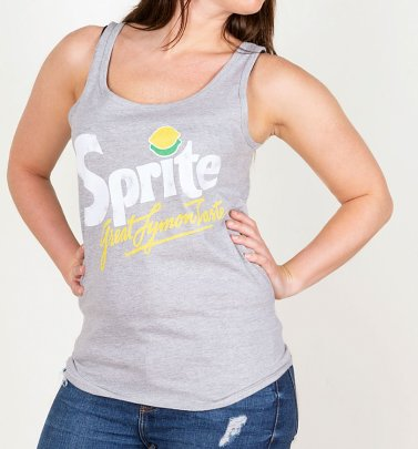 Women's Retro Sprite Logo Fitted Vest