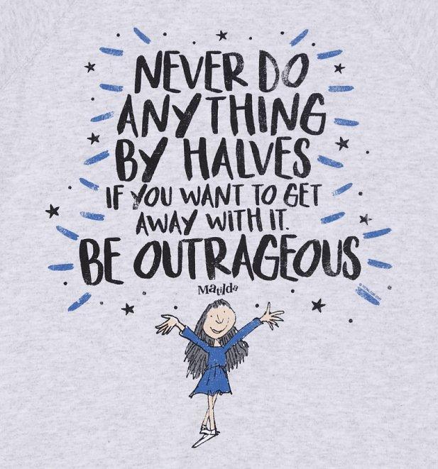 Women's Roald Dahl Be Outrageous Sweater