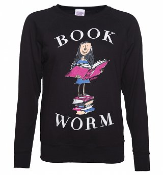 Women's Roald Dahl Matilda Book Worm Sweater