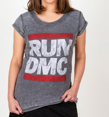 Women's Run DMC Burnout T-Shirt