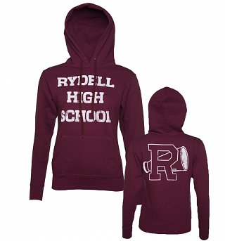 Women's Rydell High Grease Cheerleading Hoodie