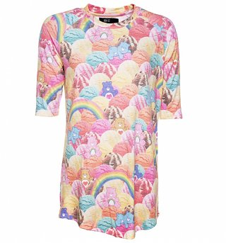 Women's Scoops A Lot Care Bears Raglan Mini Dress from Iron Fist