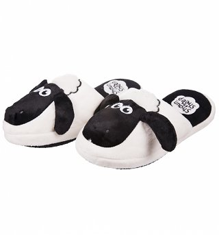 Shaun The Sheep Slip On Slippers