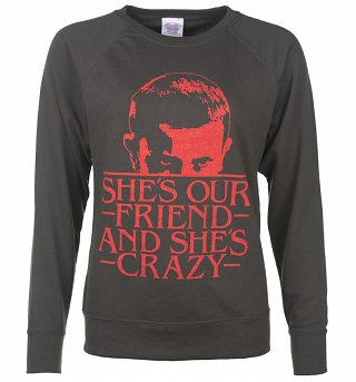 Women's She's Our Friend Eleven Stranger Things Inspired Sweater