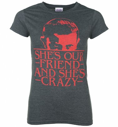 Women's She's Our Friend Eleven Stranger Things Inspired T-Shirt