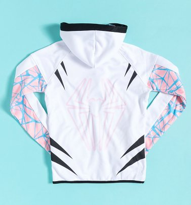Women's Spider-Gwen Zip Through Hoodie from Difuzed