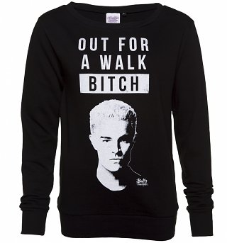 Women's Spike Out For A Walk Buffy Sweater