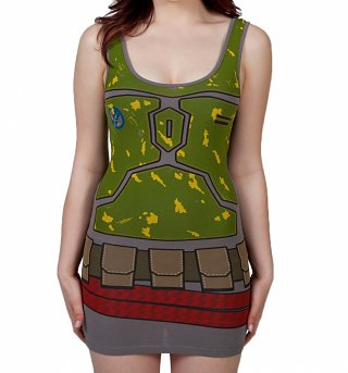 Women's Star Wars Boba Fett Bodycon Dress