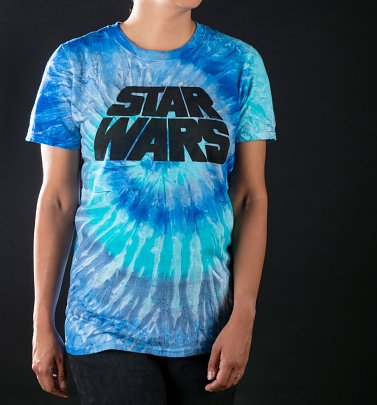 Women's Star Wars Logo Tie Dye T-Shirt