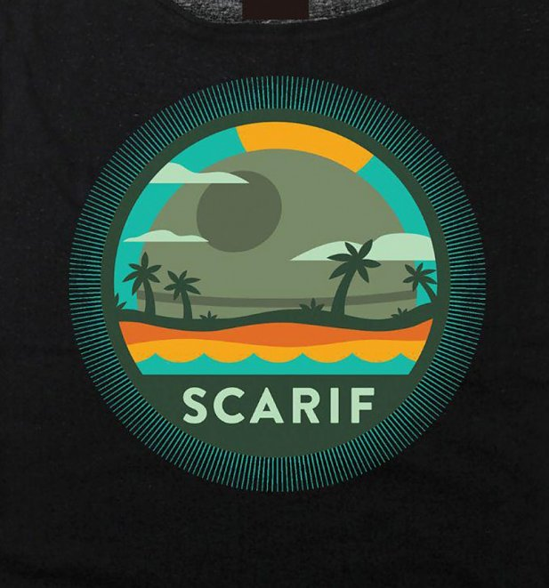 Women's Star Wars Rogue One Scarif Slouch T-Shirt