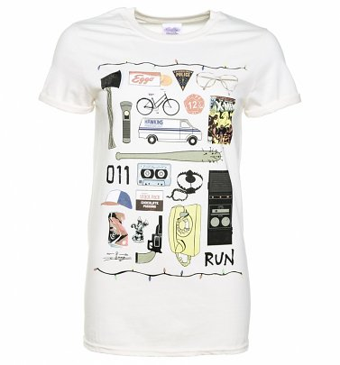 """Icons"" T-Shirt Damen Boyfriendschnitt - Stranger Things"