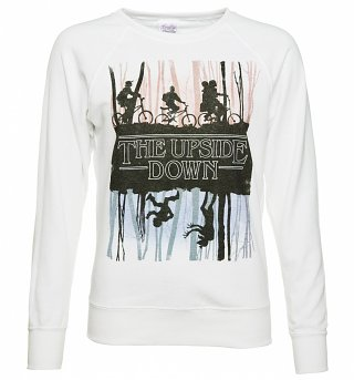Women's Stranger Things Inspired Upside Down Jumper