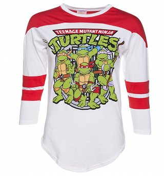 Women's Teenage Mutant Ninja Turtles Varsity T-Shirt
