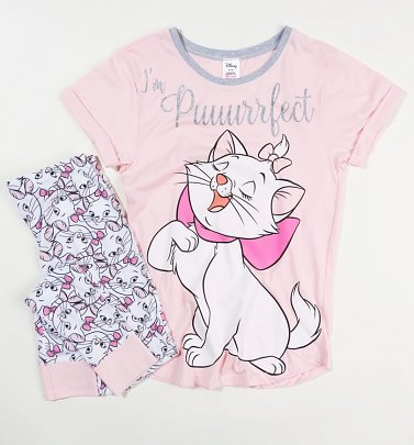 Women's The Aristocats Marie Puuuurrfect Disney Pyjamas