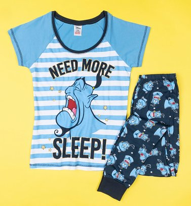 Women's The Genie Need More Sleep Aladdin Pyjamas