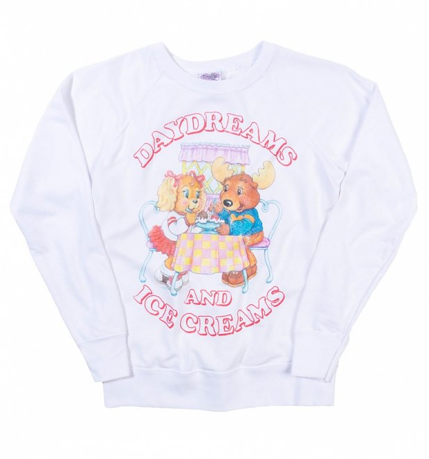 Women's The Get Along Gang Daydreams And Ice Creams White Sweater