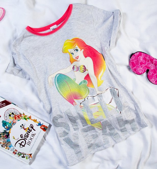 Women's The Little Mermaid Shell Yeah Pyjamas