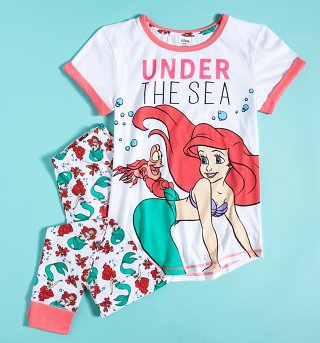 Women's The Little Mermaid Under The Sea Disney Pyjamas