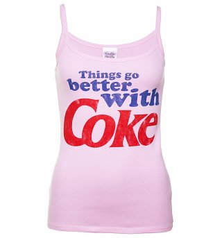 Women's Things Go Better With Coke Vest